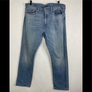 Levi's 513 Light Blue Jeans 36x32